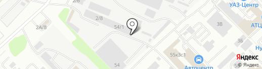 Комтрансзапчасть на карте Кемерово