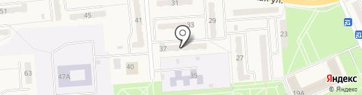 Лидия на карте Бачатского