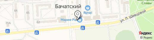 Союз ломбардов на карте Бачатского