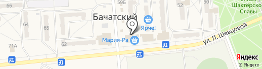 Мелодия на карте Бачатского