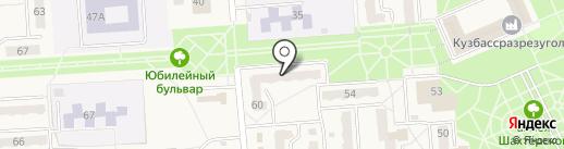 Миледи на карте Бачатского