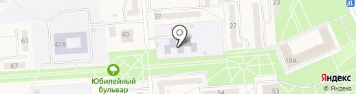 Детский сад №58, Солнышко на карте Бачатского