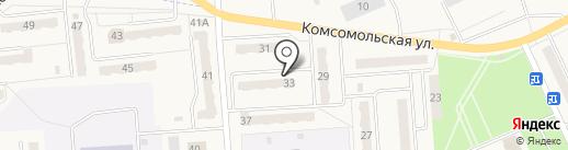 Элитный, ТСЖ на карте Бачатского