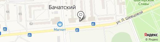 Пиво Сибири на карте Бачатского