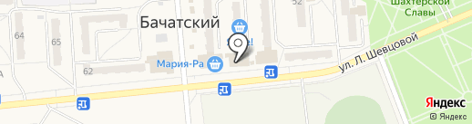 Модница на карте Бачатского