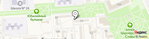Виола на карте Бачатского