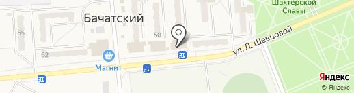 Фотоцентр на карте Бачатского