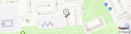 Радиус на карте Бачатского
