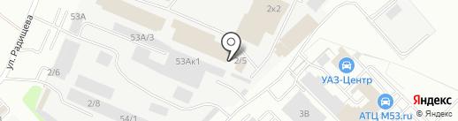Союз на карте Кемерово