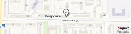 Подорожник на карте Кемерово