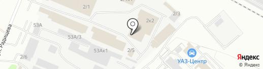 Электросила 42 на карте Кемерово