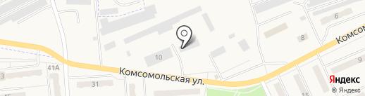 Банкомат, КБ Кольцо Урала на карте Бачатского