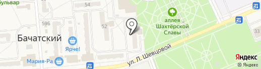 Троя на карте Бачатского
