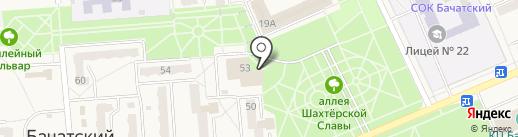 Импульс на карте Бачатского