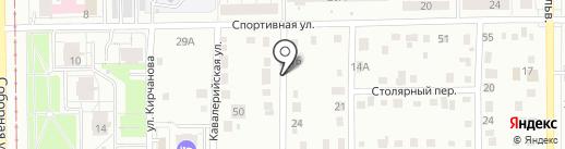 Мелиор на карте Кемерово