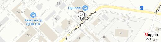 Колесити на карте Кемерово