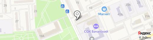 Почта Банк, ПАО на карте Бачатского