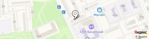 Взаимность, КПКГ на карте Бачатского