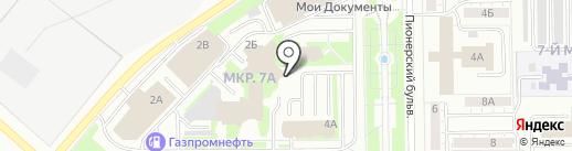 Милтон на карте Кемерово