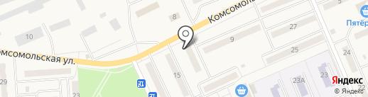 Парикмахерская на карте Бачатского