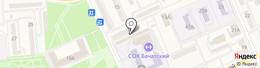 Колмогоровский бройлер на карте Бачатского