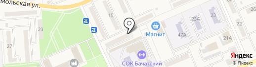 Территориальное управление п.г.т. Бачатский Администрации г. Белово на карте Бачатского