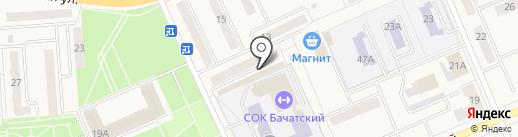 Ермолинские полуфабрикаты на карте Бачатского