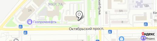 Доктор Барс на карте Кемерово