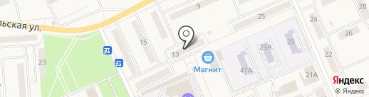 Совкомбанк на карте Бачатского