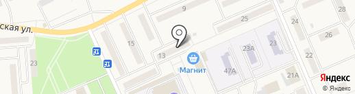Бегемот на карте Бачатского