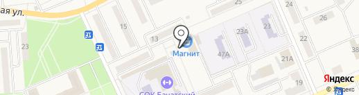 Главкредит на карте Бачатского