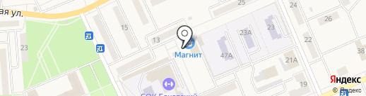 Хотэй на карте Бачатского