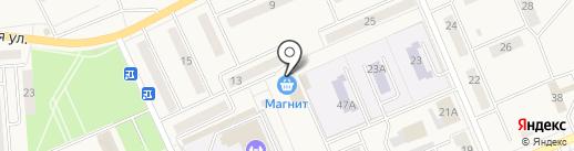 Крюгер на карте Бачатского