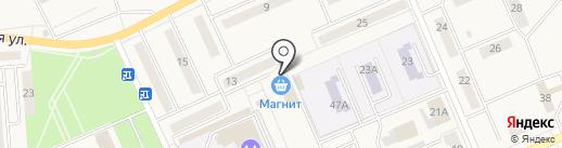 Бочка на карте Бачатского