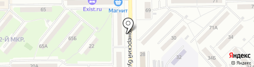Правильный расчет на карте Кемерово