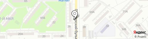Город на карте Кемерово