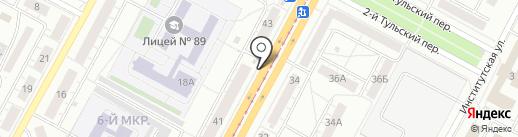 Киоск по ремонту обуви и изготовлению ключей на карте Кемерово