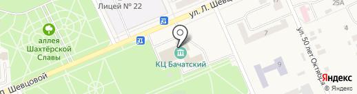 Бачатский на карте Бачатского