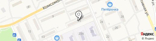 Комильфо на карте Бачатского