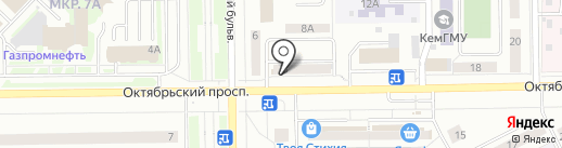 Маруся на карте Кемерово
