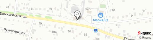 Мастерская художественной ковки Кречетова Алексея на карте Кемерово