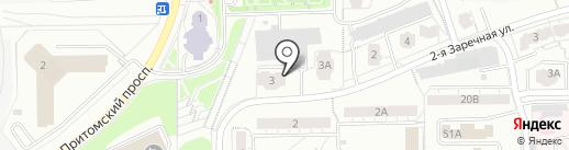 Егоза на карте Кемерово