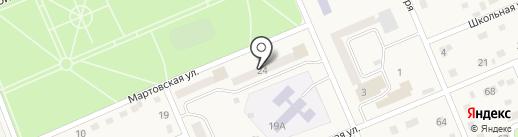 Банкомат, МДМ Банк на карте Бачатского