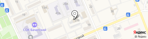 Эл-Март на карте Бачатского