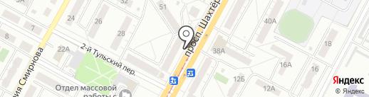 Рахат на карте Кемерово