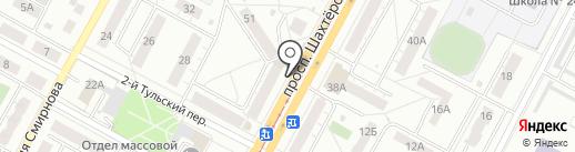 KG. Бишкек на карте Кемерово