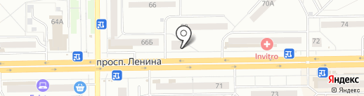 Алмаз, КПКГ на карте Кемерово