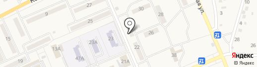 За рулём на карте Бачатского