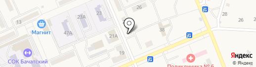 Comepay на карте Бачатского