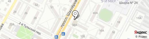 Рандеву на карте Кемерово